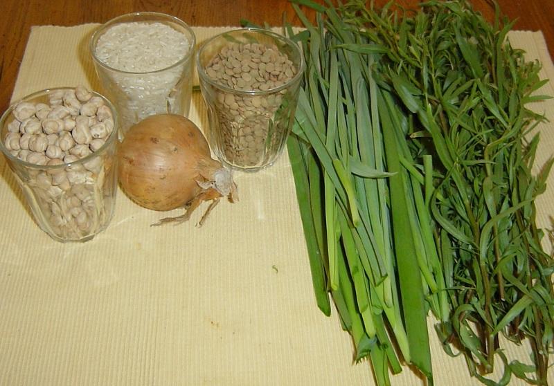 Ash sabzi آش سبزی